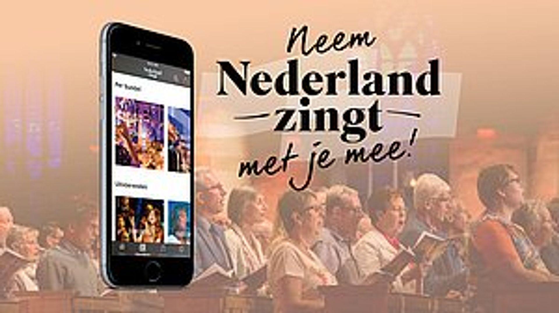 Neem Nederland Zingt altijd met je mee