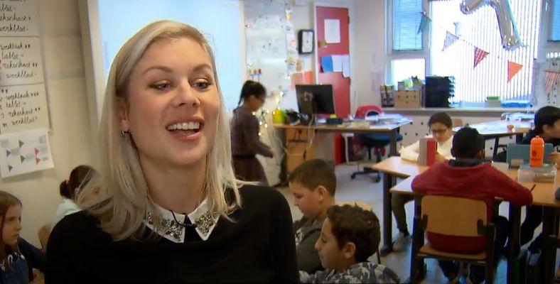 Daisy Mertens bevlogen leerkracht in de EO-podcast ZOUT!