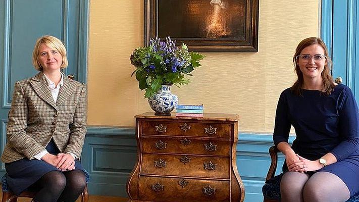 Josephine Rombouts beleefde Downton Abbey in het écht