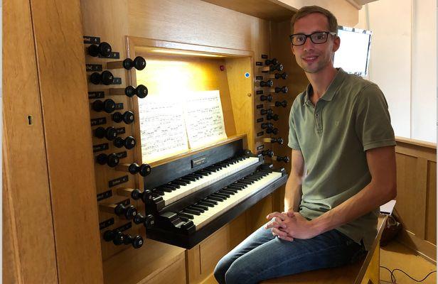 Gert van Hoef vond in het orgel zijn passie