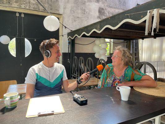 Maaike Huijgen van de Eemlandhoeve in EO-podcast ZOUT!