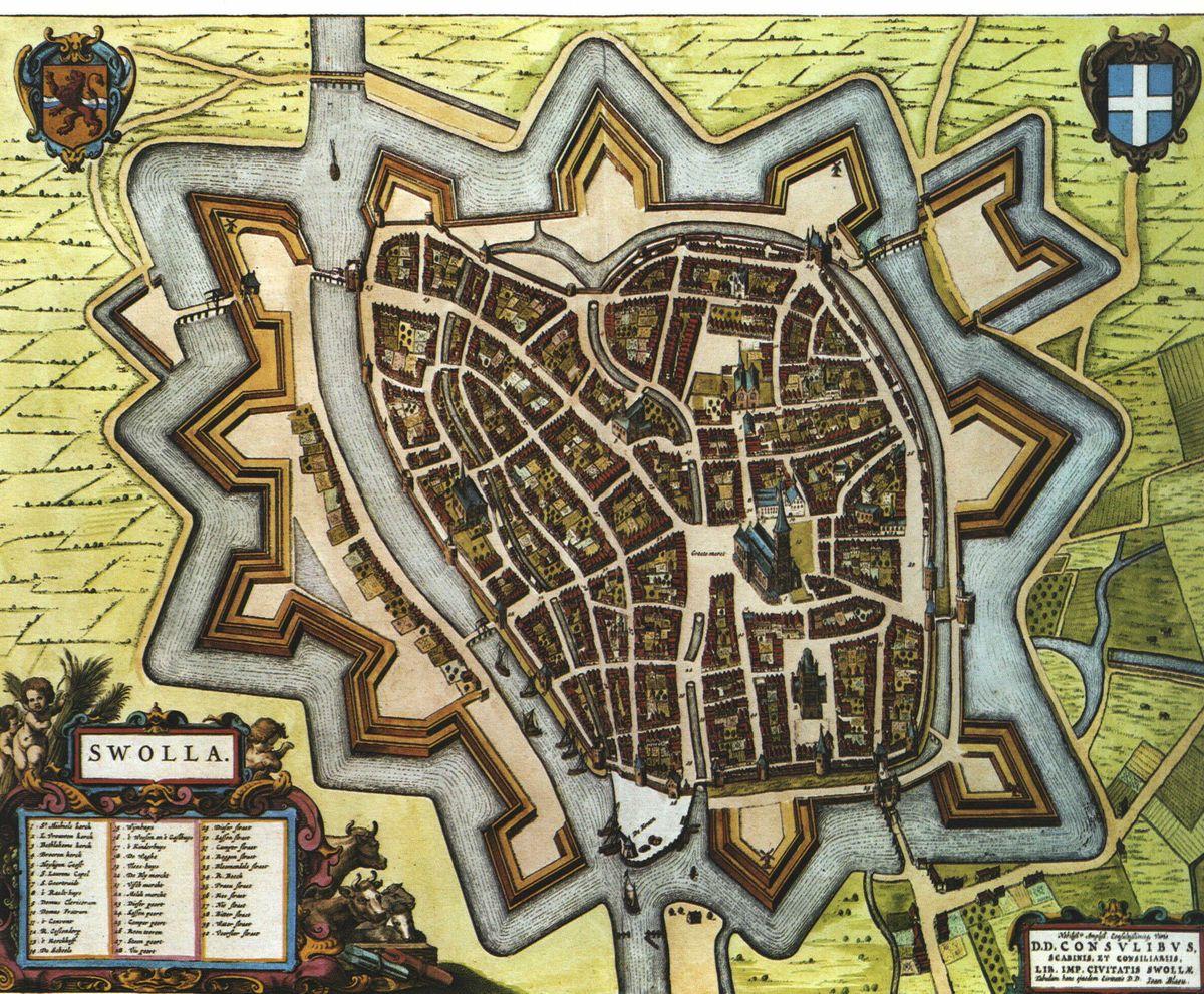 14 zwolle-kaart-uit-1652-1