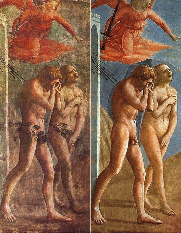 Masaccio - La Cacciata dei progenitori dall'Eden