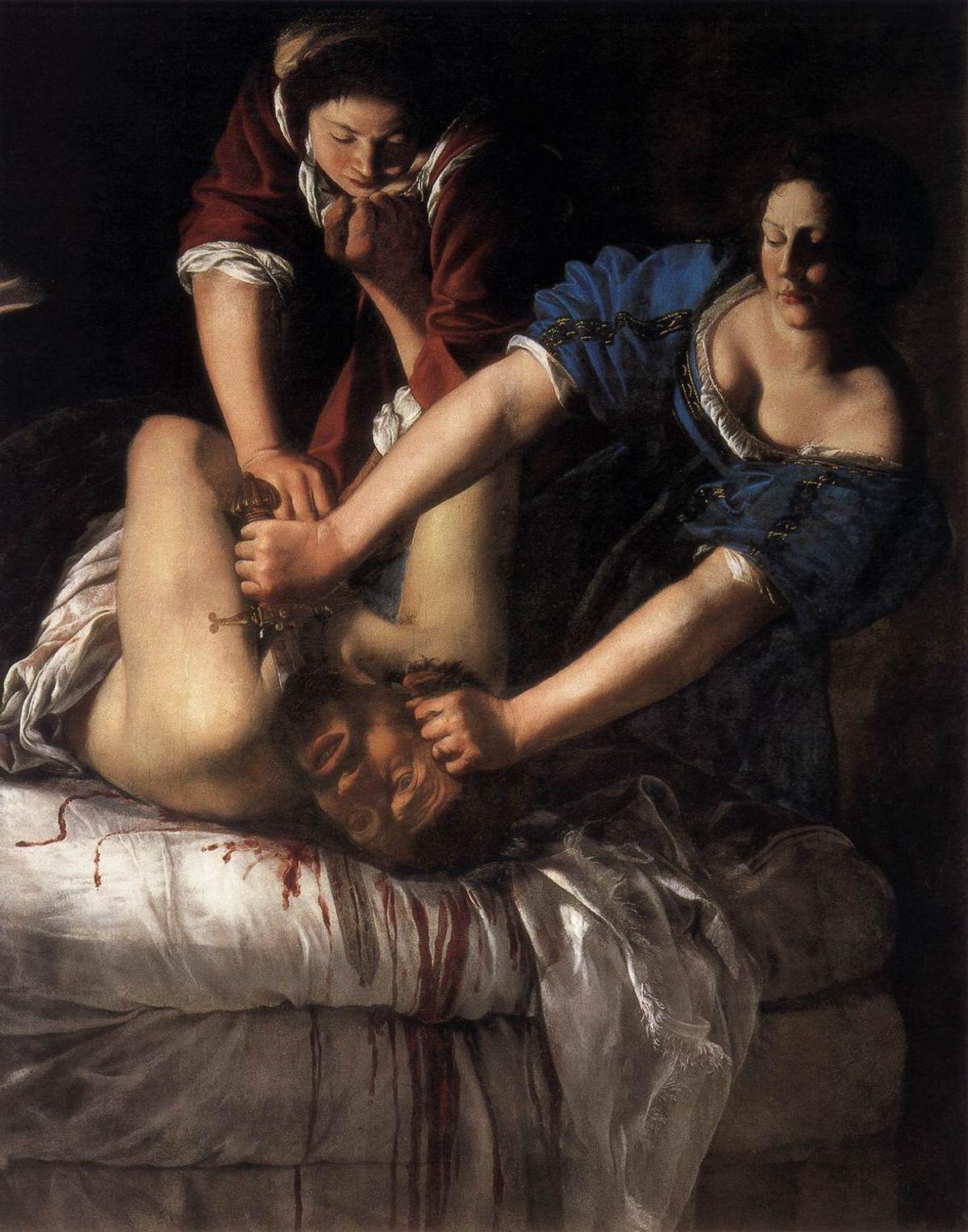 Artemisia_Gentileschi_-_Judith_Beheading_Holofernes_-_WGA8563